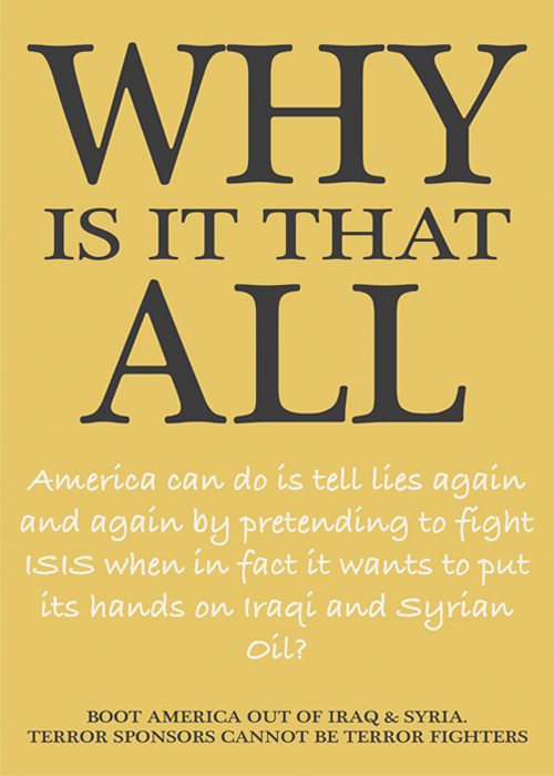 Questions Iraqis Ask – poster five of seven