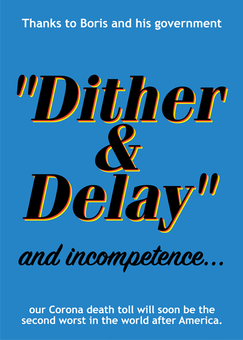 """Dither & Delay"" and incompetence…"